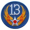 13th Air Force Patch WWII