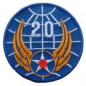 20th Air Force Patch WWII