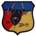 Air Force SR-71 Patch