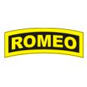 ROMEO Tab (Yellow/Black) Decal