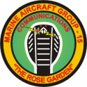 Rose Garden 15th MAG-15 Communications Decal