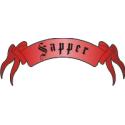 Sapper Scroll Tab Decal