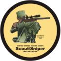 USMC Sniper Scout Association Decal