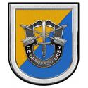 8th Special Forces Group all metal Sign  10 x 12""