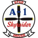 SPAD Driver A-1 Skyraider Decal