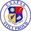 Air Force Security Service Still Proud Decal