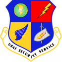 Air Force Security Service Decal