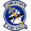 Marine Fighter Attack Training Squadron VMFAT-501 Decal