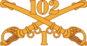 1-102 Cavalry Decal
