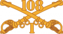 1-108 Cavalry Decal