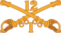 1-12 Cavalry Decal