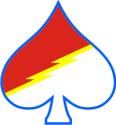 1-61 Cavalry Spade Decal