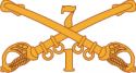 1-7 Cavalry Decal