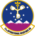 11th Op WX Sq (Color) Decal