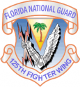 125th Fighter Wing Decal