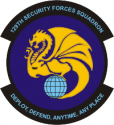 129th Security Forces Sq   Decal