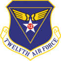 12th Air Force Decal