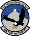 13th Air Support Operations Squadron Decal