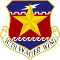 147th Fighter Wing Decal