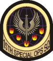 15th Special Ops Squadron Current  Decal