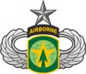 16th MP Brigade - Senior Jump Wings Decal