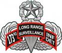 173rd LRS Infantry Detachment  Decal