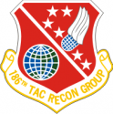 186th Tac Recon Group Decal
