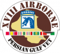 18th ABN Persian Gulf Decal