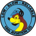 18th Aviation Co.  Decal
