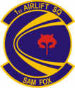 1st Airlift Squadron Decal