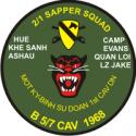 2-1 Sapper Squad Decal