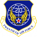 20th Air Force Decal