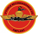 2nd Force Recon LANT Decal