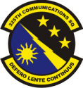 325th Communications Squadron Decal