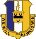 391st Infantry Regiment Decal