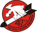 417th TFS Decal