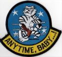 F-14 Any Time Baby Tomcat Patch