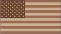 50 Star Flag Desert Camo Decal
