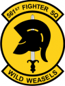 561st Fighter Squadron Decal