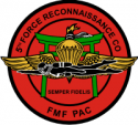 5th Force Recon FMFPAC Decal