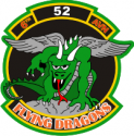 6-52nd Aviation Regiment Flying Dragons Decal