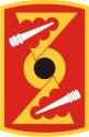 72nd Field Artillery Brigade Decal