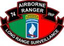 74th ABN Rangers LRS Decal