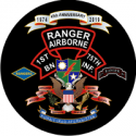 75th Airborne Rangers Anniversary Decal