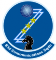 83rd Communications Squadron Decal