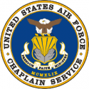 Air Force Chaplain Decal