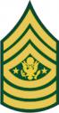Army E-9 SMA Sergeant Major of the Army
