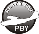 Black Cat PBY  Decal