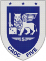 Combined Air Operation Center 5 Decal