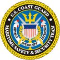 Coast Guard Maritime Safety & Security Team Decal